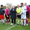 Il Ministro Cancellieri si prepara a dare il calcio d'inizio