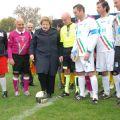 Il Ministro Cancellieri dà il calcio d'inizio al Torneo della Legalità