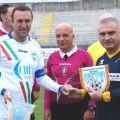 Fabio Fecci con il Prefetto di Rimini Palomba
