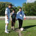 32 Mauro Martini dà il calcio d'inizio