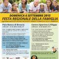 DOMENICA 6 SETTEMBRE A BRESCIA SINDACI IN CAMPO CON L'ASSOCIAZIONE FAMIGLIE NUMEROSE E NAZIONALE ITALIANA ATTORI
