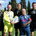 (la terna arbitrale guidata da Moreno Morello con il Capitano NIS Fabio Fecci ed Antonello Crucitti Capitano Famiglie Numerose)