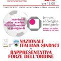 NAZIONALE ITALIANA SINDACI E FORZE DELL'ORDIN SABATO 16 GIUGNO IN CAMPO A MASSA LOMBARDA PER LO IOR