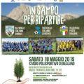 """IL 18 MAGGIO TUTTI """"IN CAMPO PER RIPARTIRE"""": LA NAZIONALE ITALIANA SINDACI IN CAMPO A BELLUNO CON LA NAZIONALE CANTANTI E LA NAZIONALE POSTE ITALIANE"""