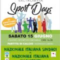 """VAL TROMPIA SPORT DAYS: A GARDONE VAL TROMPIA LA NAZIONALE ITALIANA SINDACI SFIDA I MAGISTRATI PER IL PROGETTO """"DOPO DI NOI"""""""